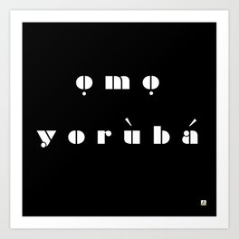 omo  Art Print