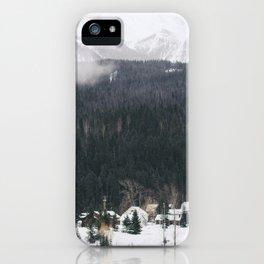 Alpine Village iPhone Case