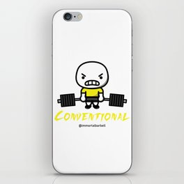 CONVENTIONAL iPhone Skin