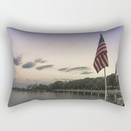 Boulevard summer sundown Rectangular Pillow