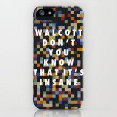 Spectrum Colors Arranged by Walcott Slim Case iPhone (5, 5s)