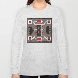 American Native Pattern No. 161 Long Sleeve T-shirt