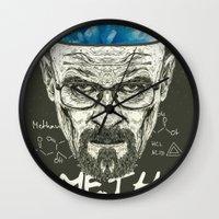 heisenberg Wall Clocks featuring Heisenberg by Maioriz Home