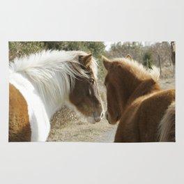 Horse Conversations Rug