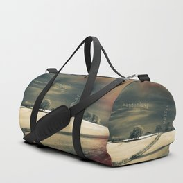 I Wander because... Duffle Bag