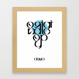 Original Copy Framed Art Print