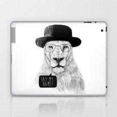 Say my name Laptop & iPad Skin
