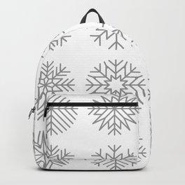 minimalist snow flakes Backpack