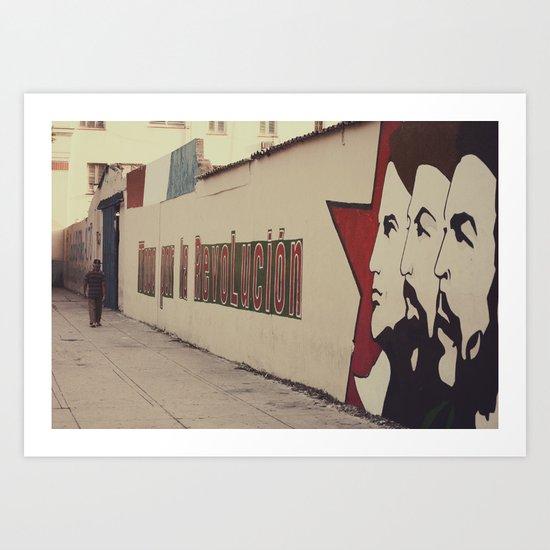 todo por la revolución Art Print