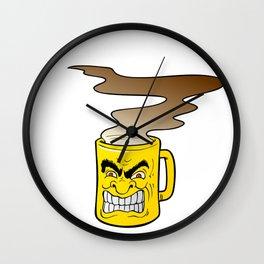 Fierce Coffee Wall Clock