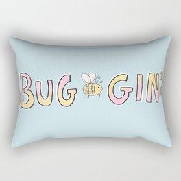 Totally Buggin' Rectangular Pillow