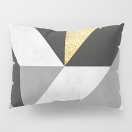 Gold collage XI Pillow Sham