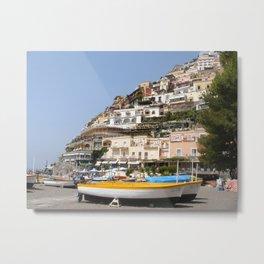 Amalfi Coast Metal Print