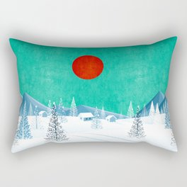 Winter Nature Rectangular Pillow