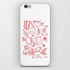 Tea things iPhone & iPod Skin