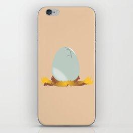 Hatching Egg iPhone Skin