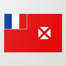 Wallis and Futuna country flag Canvas Print