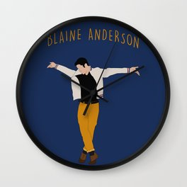Blaine Anderson - Wanna Be Startin' Something Wall Clock