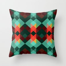 Patagonia, Forest Throw Pillow