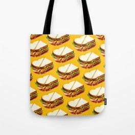 Ham Sandwich Pattern Tote Bag