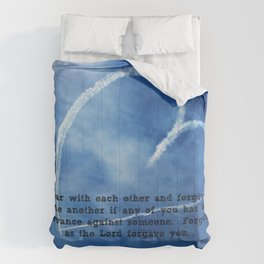 Colossians 3:13 Comforters