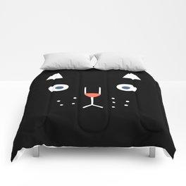 Catz! (black) Comforters
