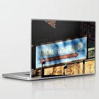 cafe Laptop & iPad Skins featuring Cafe by Ink and Paint Studio