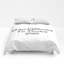 Kirsten Gillibrand for President Comforters