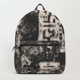 Cryptic Space Glyphs I Backpack