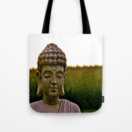 A Peaceful Mind, Makes a Happy Heart Tote Bag