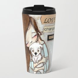 Love Changes Everything by Diane Duda Travel Mug