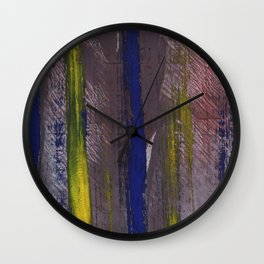 Dark abstract Wall Clock