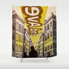 Street Name Shower Curtain