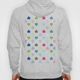 AFE Colorful Hearts Hoody