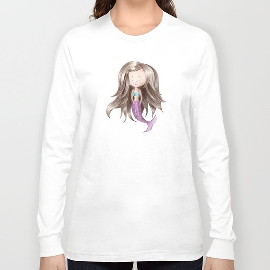 Melancholy Mermaid Long Sleeve T-shirt