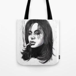 Smoking Trash Tote Bag