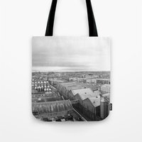 dublin Tote Bags featuring Dublin  by Thomas Peham