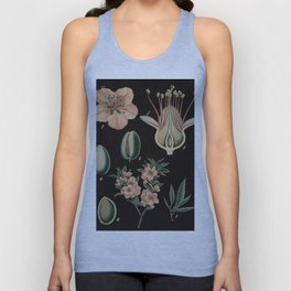 Botanical Almond Unisex Tank Top
