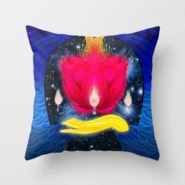 the jinn Throw Pillow
