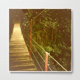 Bridge to No Where Metal Print