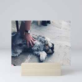 The Belly Rub Mini Art Print