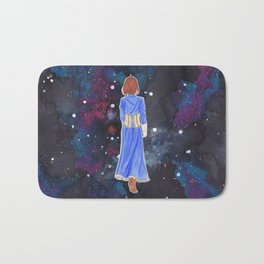 Elizabeth in space Bath Mat
