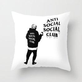 hype series _anti anti Throw Pillow
