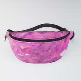 Pink Geode Fanny Pack