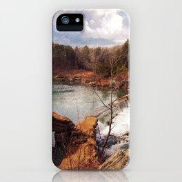Marble Creek iPhone Case