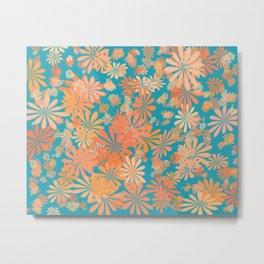 floral corals Metal Print