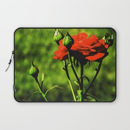 A Kiss from a Rose Laptop Sleeve