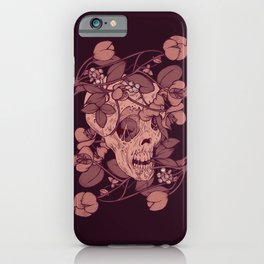 Rotting flowers iPhone Case