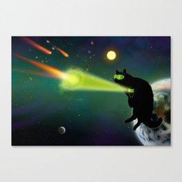 Cat Lanturn Canvas Print