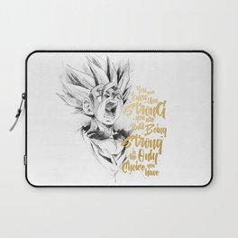 Dragonball Z - Strenth Laptop Sleeve